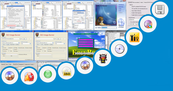 Software collection for Bootable Win95 Iso