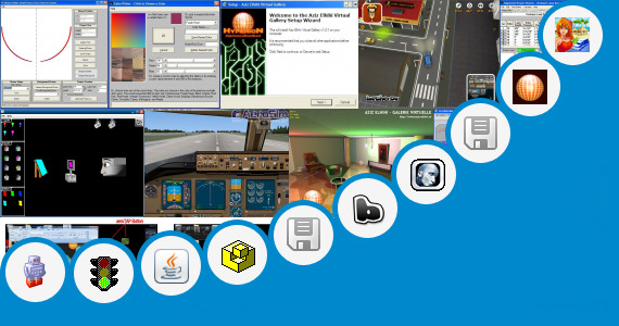 Software collection for Virtual Paint Your Truck Program