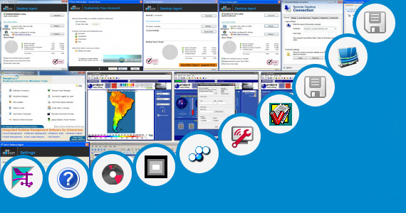 Software collection for Copilot Central Desktop Software