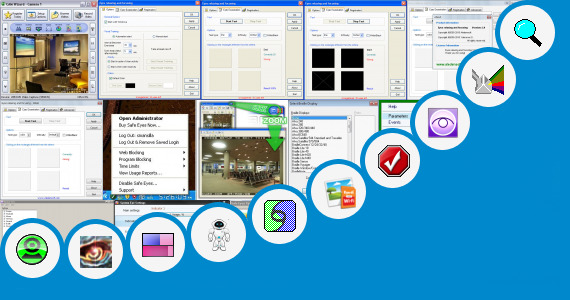 Software collection for Tm Eye Application For Cctv
