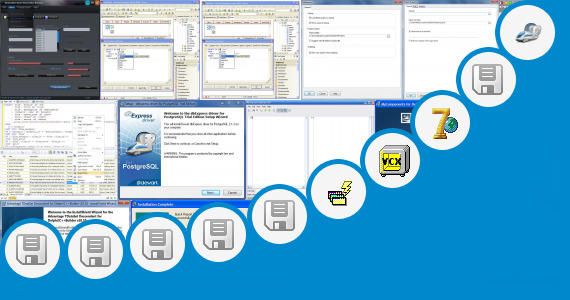 Software collection for Borland Delphi 8 For Windows 7 X64
