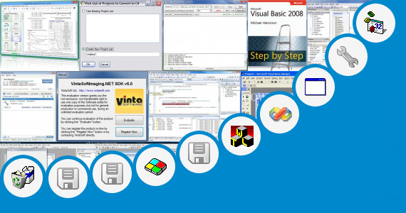 Software collection for Dot Net 2008 Software Free