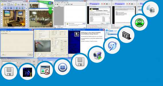 Software collection for Ubisoft Web Cam Software