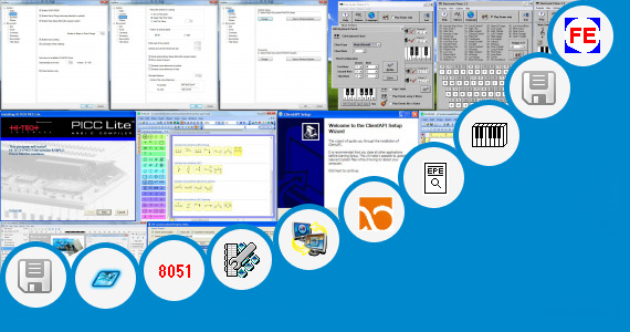 Software collection for Electronics For You Major Projects