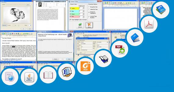 Software collection for Ebook Reader Emulator