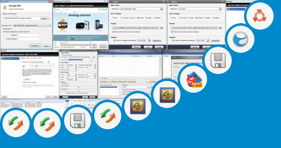 Software collection for Digital Watermarking Ppt