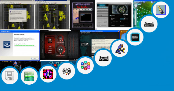 Software collection for Dyna Blaster Game