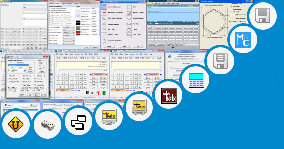 Software collection for Scientific Calculator With Abc Button
