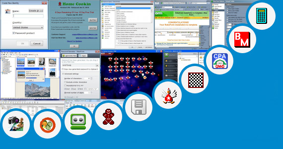 Software collection for Contoh Master Plan