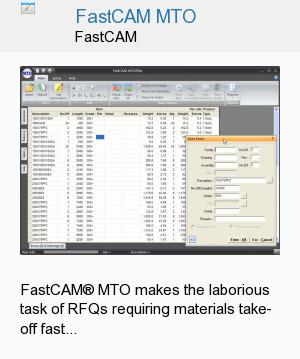 FastCAM MTO