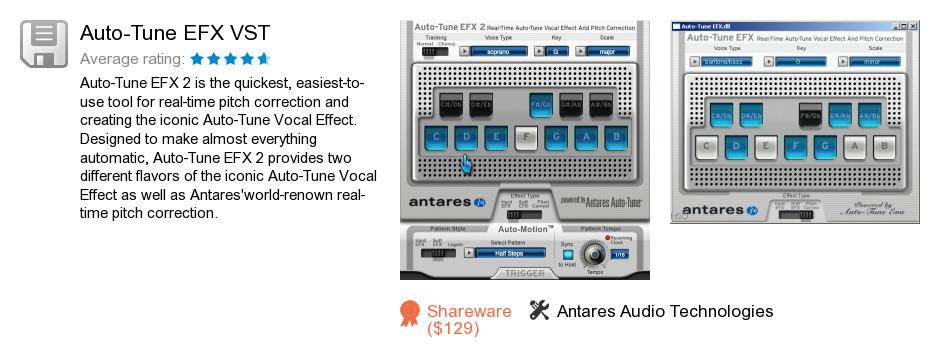 Auto-Tune EFX VST