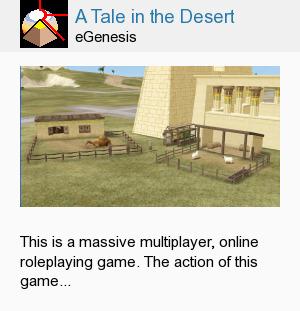A Tale in the Desert