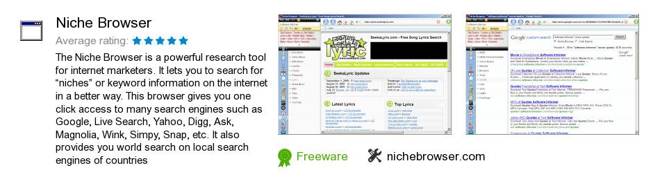 Niche Browser