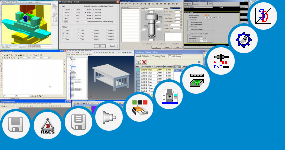 Software collection for Cnc Simulator Fanuc