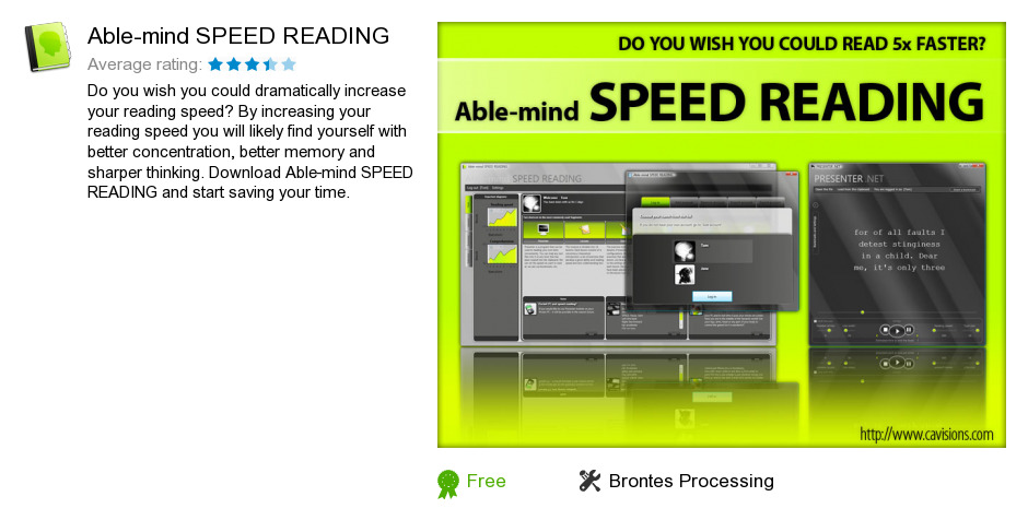 Able-mind SPEED READING