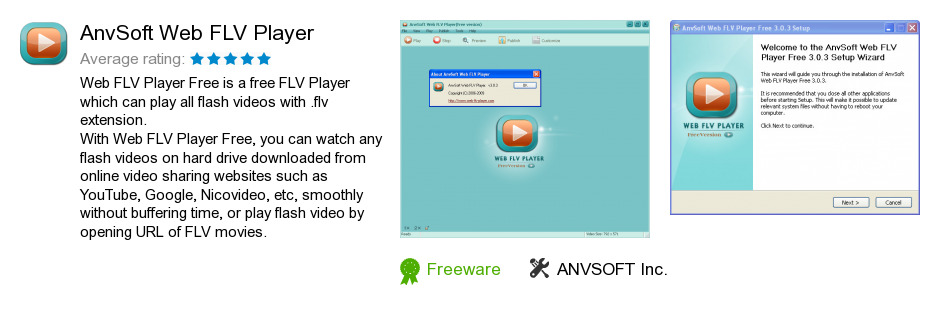 AnvSoft Web FLV Player