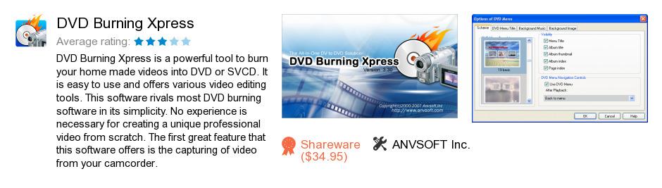 DVD Burning Xpress