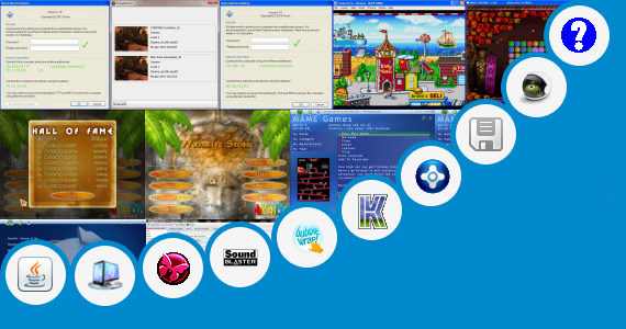 Software collection for Game Jar Touchscreen