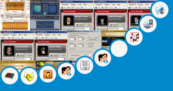 Software collection for Dj Name Voice Maker Software