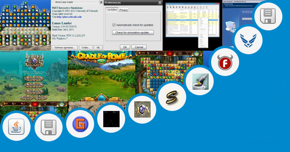 Software collection for Temple Run Java Game