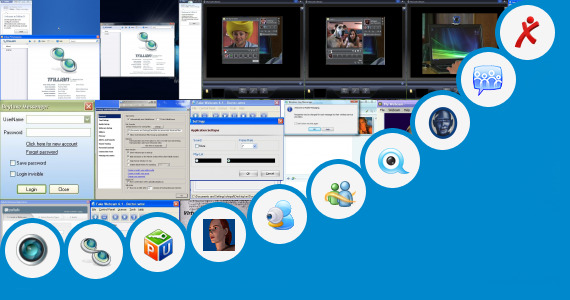 Software collection for Blu Chat Face Talk Chat