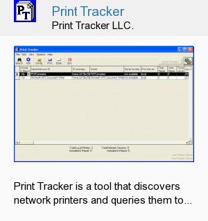 Print Tracker