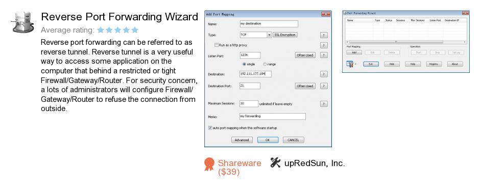 Reverse Port Forwarding Wizard