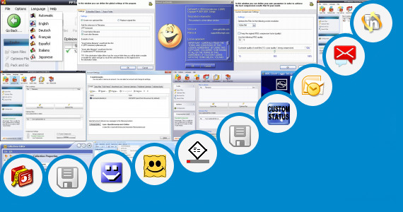 Software collection for Outlook Communicator 2007 Smileys