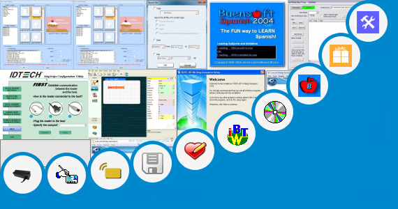 Software collection for Mag Card Write Read Utility Program Free