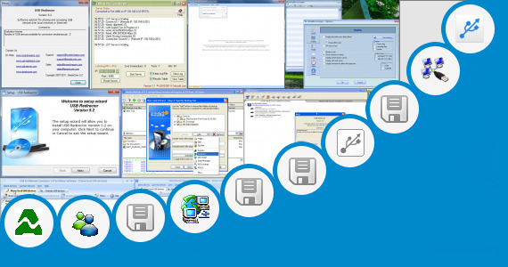 Software collection for Usb Network Server