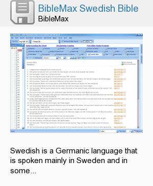 BibleMax Swedish Bible