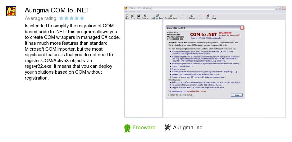 Aurigma COM to .NET