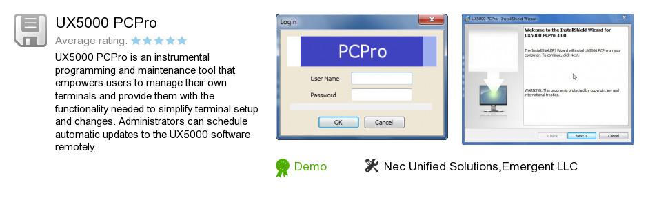 UX5000 PCPro