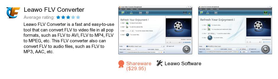 Leawo FLV Converter