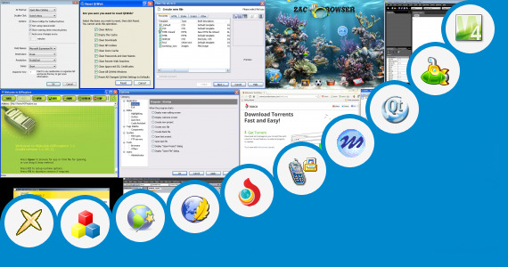 Software collection for Web Browser Package