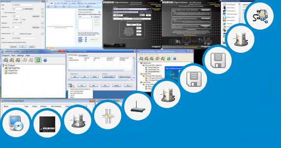 Software collection for Program Forward Port Hg658
