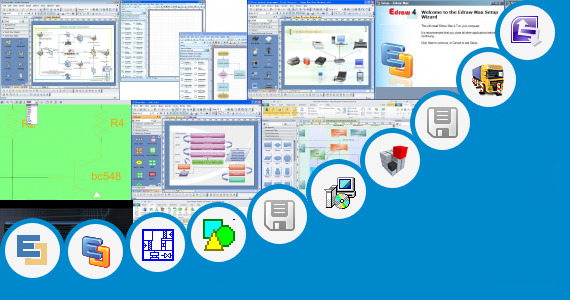 how to move shapes in visio