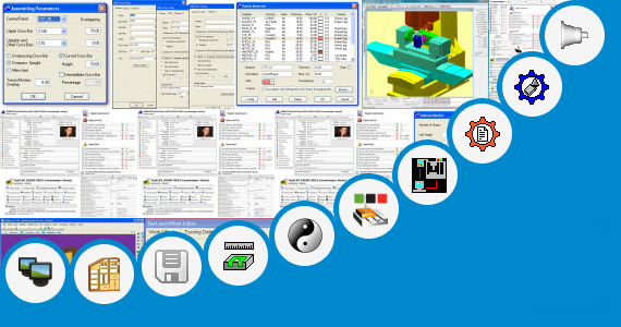 Software collection for Machining Time Estimation Cnc