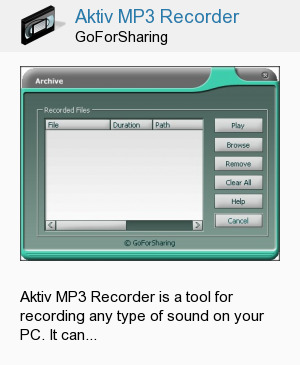 Aktiv MP3 Recorder