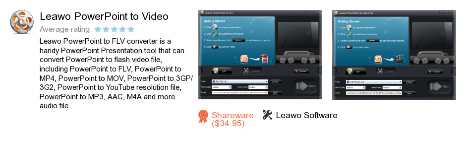 Leawo PowerPoint to Video