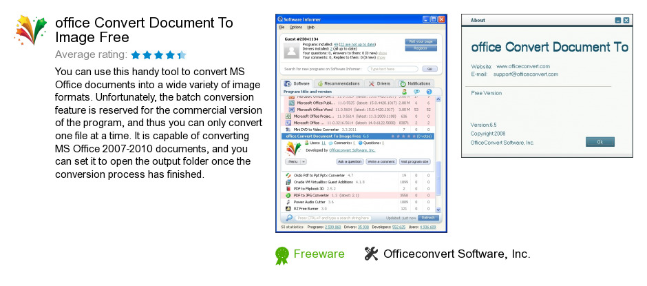 Office Convert Document To Image Free