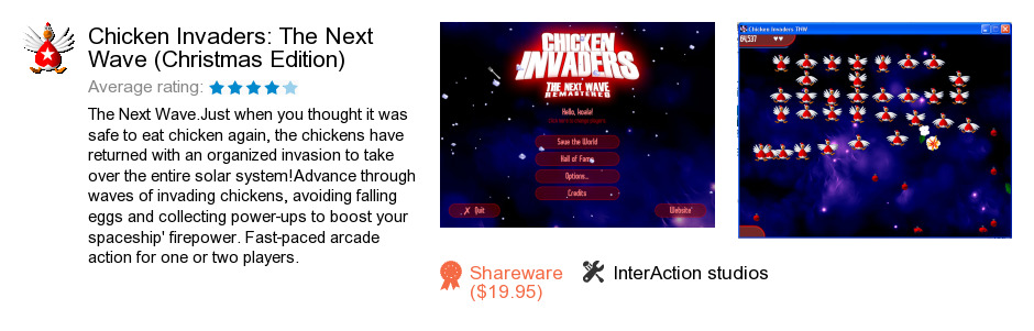 Chicken Invaders: The Next Wave (Christmas Edition)