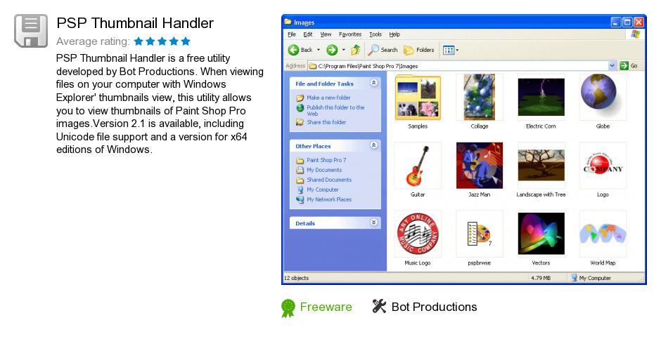 PSP Thumbnail Handler