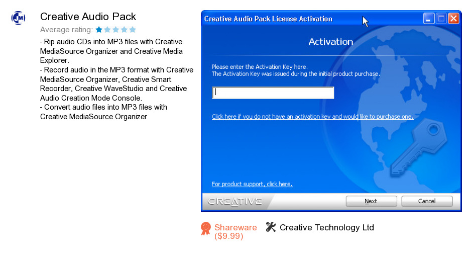 Creative Audio Pack