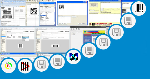 Software collection for Datamatrix Barcodes