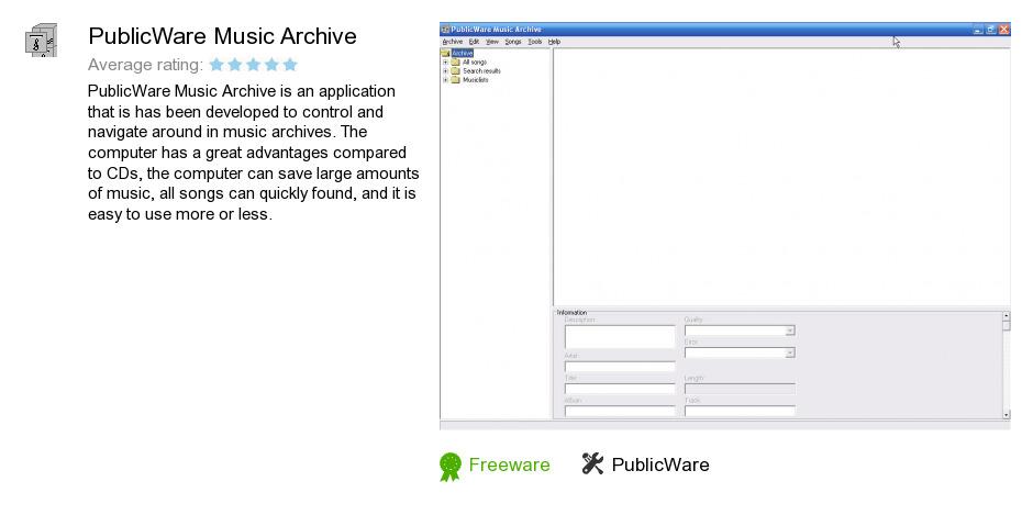 PublicWare Music Archive