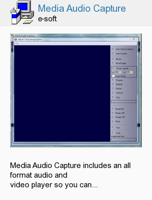 Media Audio Capture