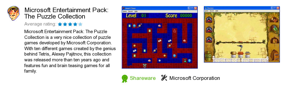 Microsoft Entertainment Pack: The Puzzle Collection