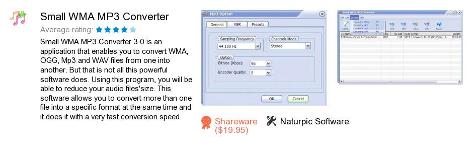 Small WMA MP3 Converter