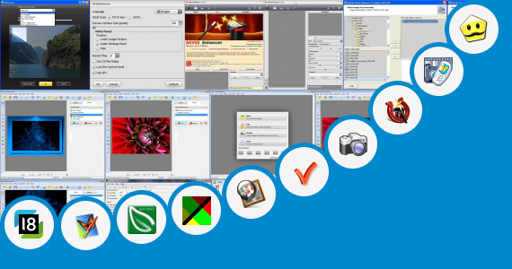 Software collection for Forensic Photo Enhancement Software
